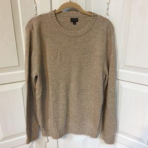 Men's J. Crew Brown Pullover Sweater
